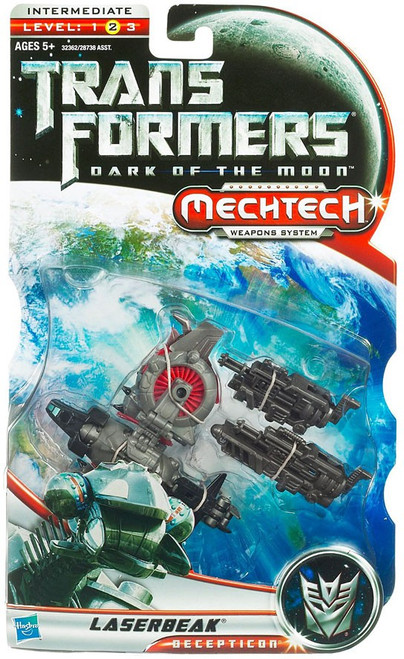 Transformers Dark of the Moon Mechtech Laserbeak Deluxe Action Figure