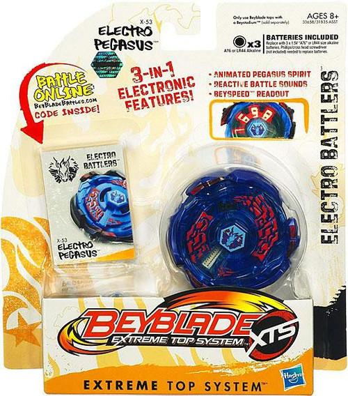 Beyblade XTS Electro Battlers Electro Pegasus X-53