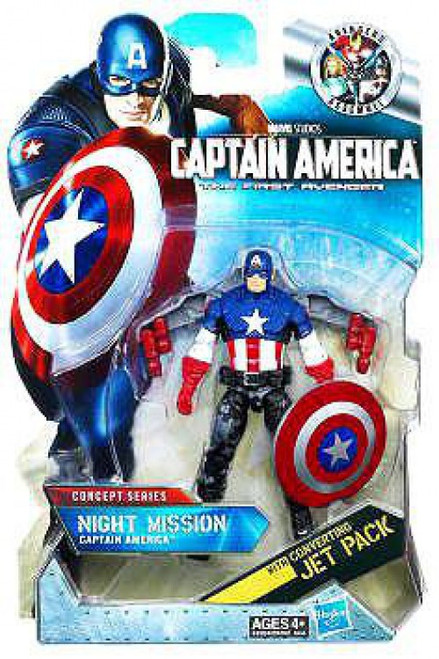 The First Avenger Concept Series Night Mission Captain America Action Figure #14