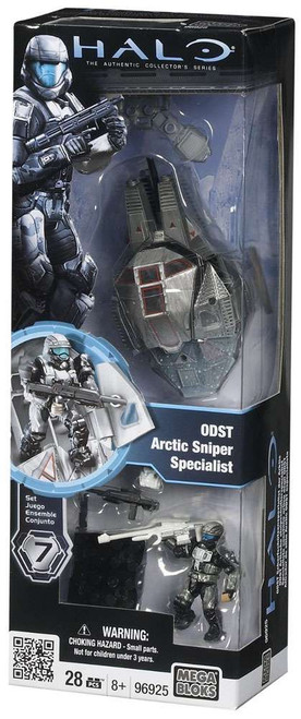 Mega Bloks Halo The Authentic Collector's Series ODST Sniper Set #96925