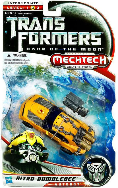 Transformers Dark of the Moon Mechtech Nitro Bumblebee Deluxe Action Figure