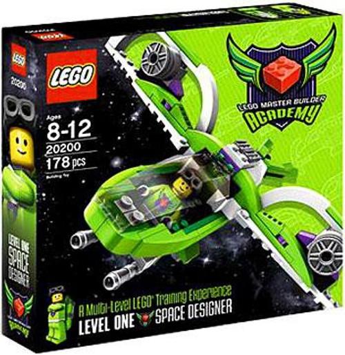 LEGO Master Builder Academy MBA Space Designer Set #20200 [Kit 1]