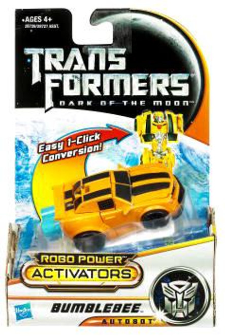 Transformers Dark of the Moon Robo Power Activators Bumblebee Action Figure