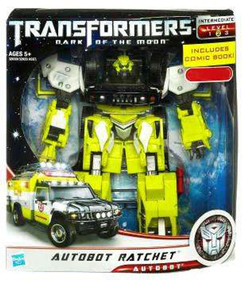 Transformers Dark of the Moon Exclusives Voyager Autobot Ratchet Exclusive Voyager Action Figure