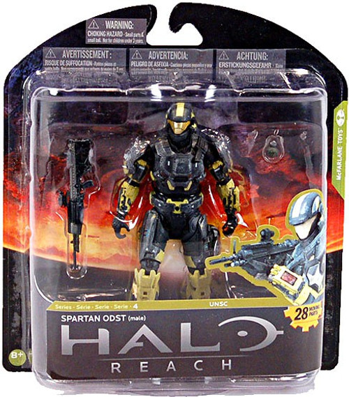 McFarlane Toys Halo Reach Series 4 Spartan ODST Exclusive Action Figure