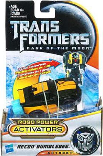 Transformers Dark of the Moon Robo Power Activators Recon Bumblebee Action Figure