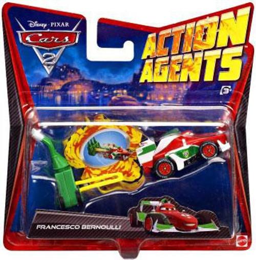 Disney Cars Cars 2 Action Agents Francesco Bernoulli Plastic Car