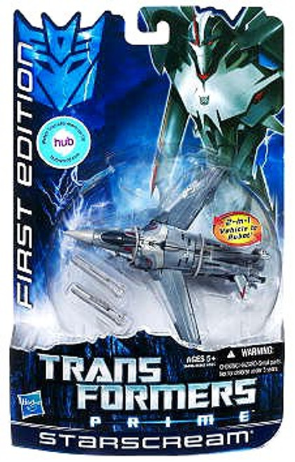 Transformers Prime First Edition Deluxe Starscream Deluxe Action Figure