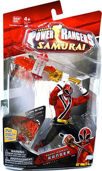 Power Rangers Samurai Sword Morphin Ranger Fire Action Figure