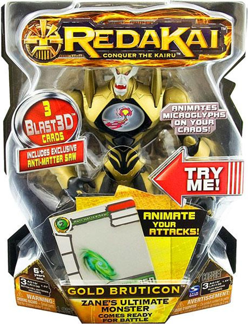 Redakai Deluxe Gold Bruticon Action Figure