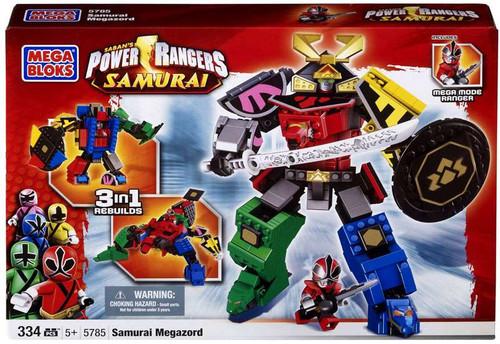 Mega Bloks Power Rangers Samurai Megazord Set #5785