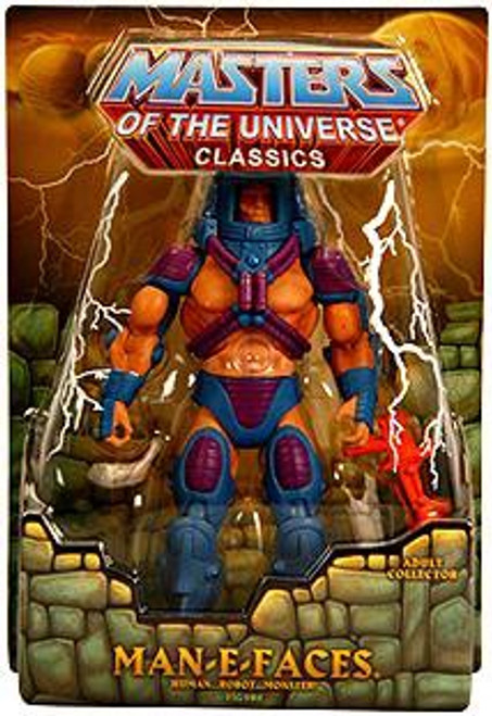 Masters of the Universe Classics Club Eternia Man-E-Faces Exclusive Action Figure [First Printing]
