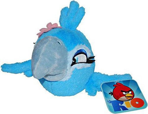 Angry Birds Rio Jewel 8-Inch Plush [Talking]