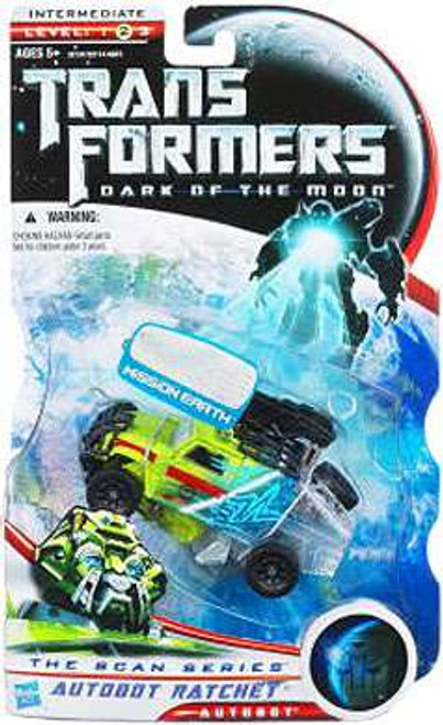 Transformers Dark of the Moon The Scan Series Autobot Ratchet Exclusive Deluxe Action Figure