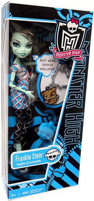 Monster High Classroom Basic Frankie Stein 10.5-Inch Doll