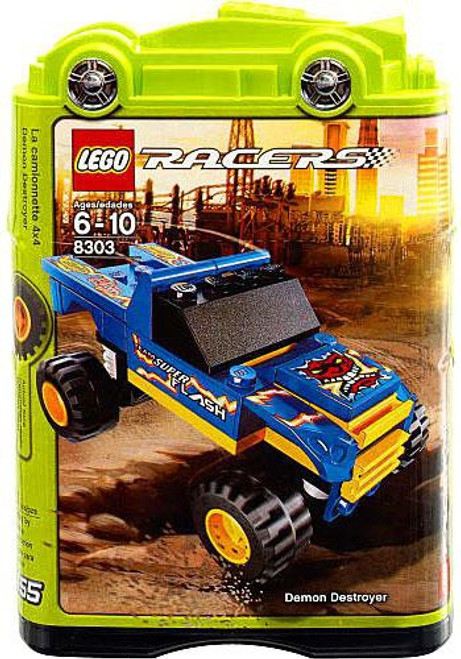 LEGO Racers Tiny Turbos Demon Destroyer Set #8303