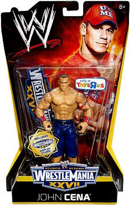 WWE Wrestling WrestleMania 27 John Cena Exclusive Action Figure
