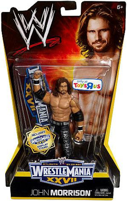 WWE Wrestling WrestleMania 27 John Morrison Exclusive Action Figure