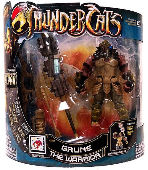 Thundercats Thunder Lynx Deluxe Grune the Warrior Action Figure [Thundercats Logo]