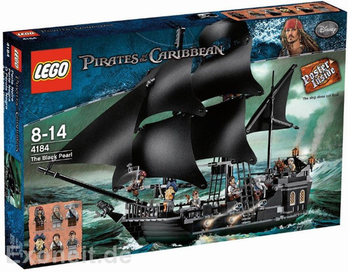 LEGO Pirates of the Caribbean The Black Pearl Set #4184