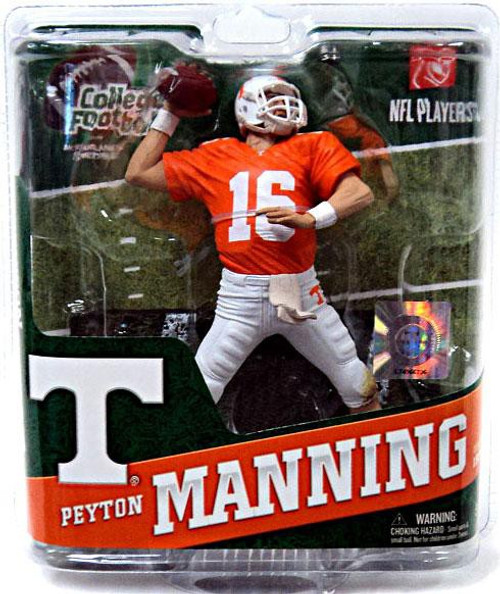 McFarlane Toys NCAA College Football Sports Picks Series 4 Peyton Manning Action Figure