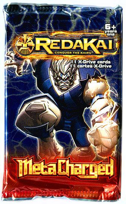 Redakai Conquer the Kairu MetaCharged Booster Pack