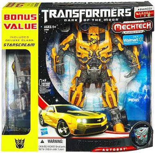 Transformers Dark of the Moon Mechtech Leader Bumblebee Exclusive Leader Action Figure [With Starscream]