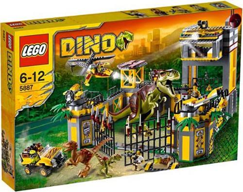 LEGO Dino Defense HQ Set #5887