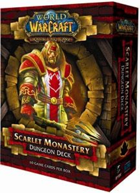 World of Warcraft Trading Card Game Scarlet Monastery Dungeon Deck