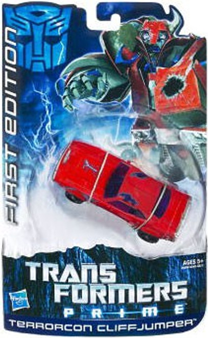 Transformers Prime First Edition Deluxe Terrorcon Cliffjumper Deluxe Action Figure