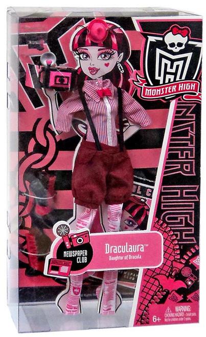 Monster High Newspaper Club Draculaura Fashion Pack