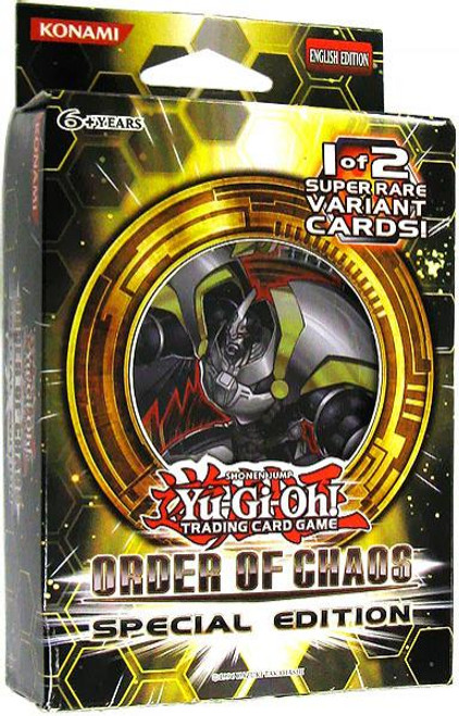 YuGiOh Order of Chaos Special Edition Pack [Sealed]
