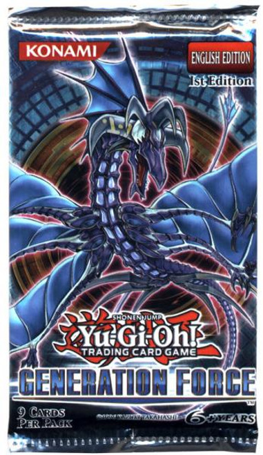 YuGiOh Generation Force Booster Pack [Sealed]