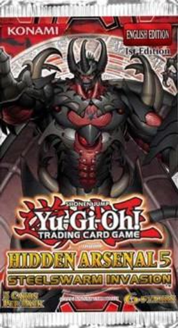 YuGiOh Hidden Arsenal 5: Steelswarm Invasion Booster Pack [Sealed]
