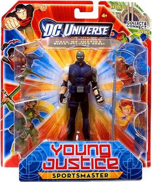 DC Universe Young Justice 4 Inch Sportsmaster Action Figure