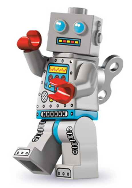 LEGO Minifigures Series 6 Clockwork Robot Minifigure [Loose]
