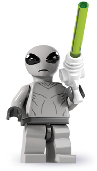 LEGO Minifigures Series 6 Classic Alien Minifigure [Loose]