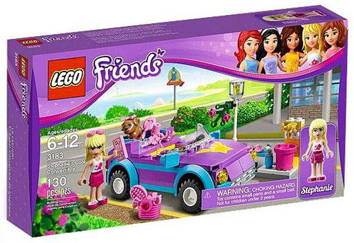 LEGO Friends Stephanie's Cool Convertible Set #3183