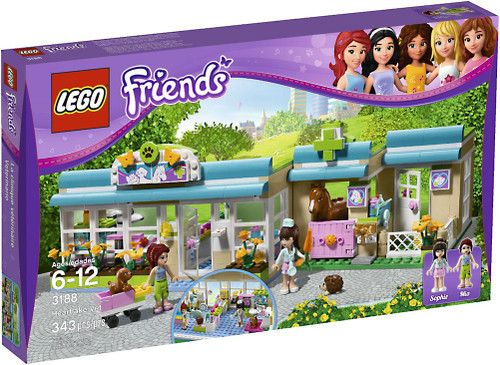 LEGO Friends Heartlake Vet Set #3188