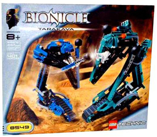 LEGO Bionicle Tarakava Set #8549 [Damaged Package]
