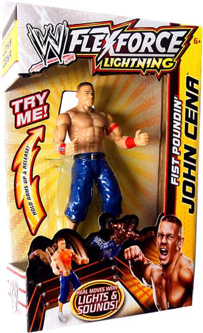 WWE Wrestling FlexForce Lightning Fist Poundin' John Cena Action Figure