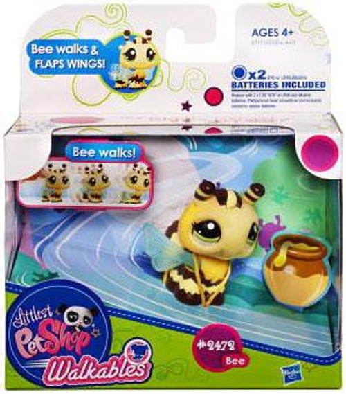 Littlest Pet Shop Walkables Bee Figure #2472