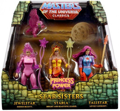 Masters of the Universe Classics Club Eternia Star Sisters Exclusive Action Figure 3-Pack [Princess of Power]