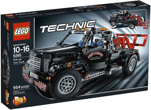 LEGO Technic Pick-Up Tow Truck Exclusive Set #9395