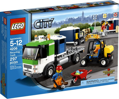 LEGO City Recycling Truck Exclusive Set #4206