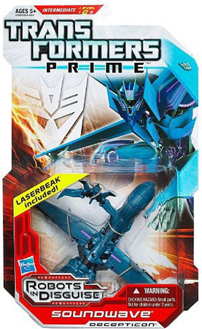 Transformers Prime Robots in Disguise Soundwave Deluxe Action Figure