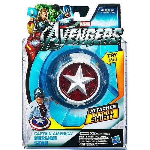 Marvel Avengers Captain America Mission Star Roleplay Toy