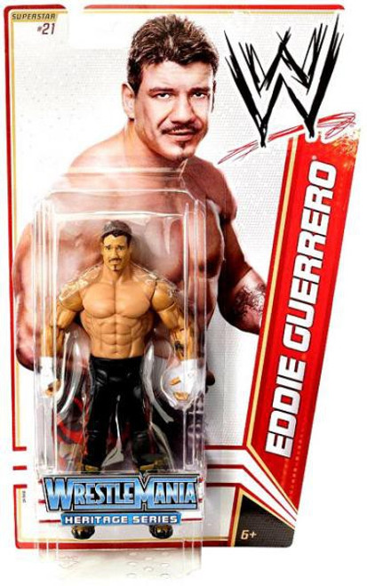 WWE Wrestling Series 16 Eddie Guerrero Action Figure #21