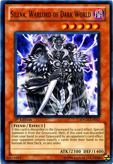 YuGiOh 5D's Structure Deck: Gates of the Underworld Common Sillva, Warlord of Dark World SDGU-EN012