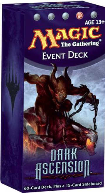 MtG Dark Ascension Gleeful Flames Event Deck [Sealed Deck]